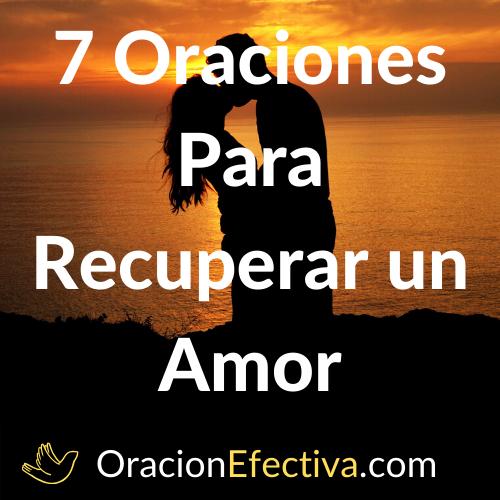 Oración para recuperar un amor