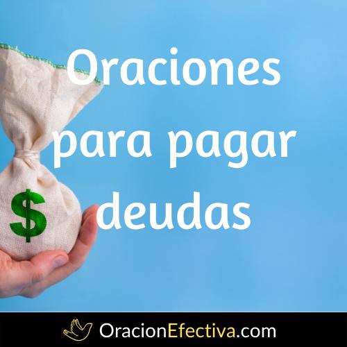 Oración para pagar deudas